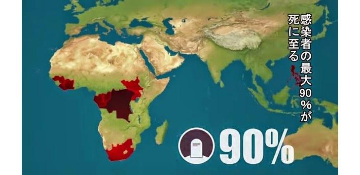エボラ出血熱グラフ